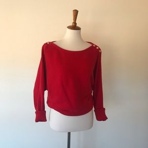 Ralph Lauren Red Sweater